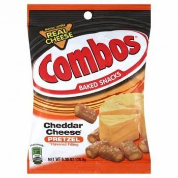 Combos Chedder- cheese baked pratzel 178.6g bag 3