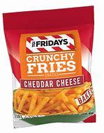 TGI Fridays crunchy fries cheddar cheese 4.5oz 3