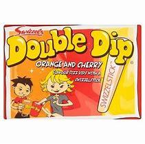 Swizzles double dip orange and cherry 3