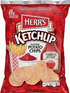 Herr's ketchup potato chips 3