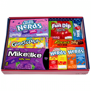 LARGE Classic American Candy Mix - Gift Tray 3