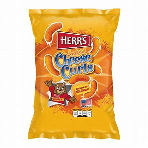 Herr's baked cheese curls 7oz 3