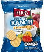 Herr's creamy ranch habanero potato chips 3
