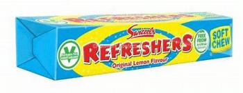 Swizzels refreshers original lemon soft chew 3