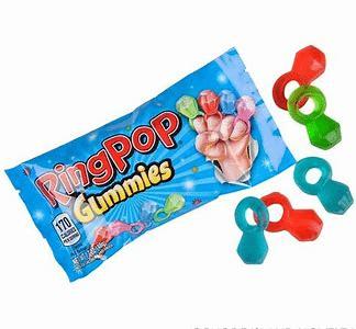 Ringpop Gummy rings 48g 3
