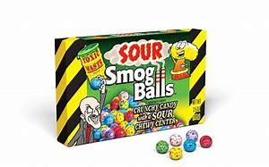 Toxic waste sour smog balls 3.5oz 3