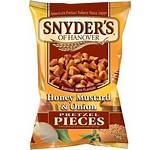 Snyders Honey Mustard & Onion Pretzel Pieces 125g 3