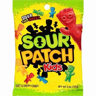 Sour patch kids  5oz 3