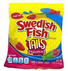 Swedish Fish Tails 3