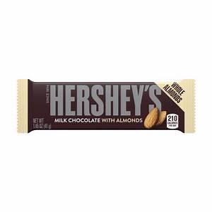 Hershey's Milk chocolate with almonds 3