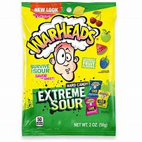 Warheads extreme sour hard candy 1oz 3
