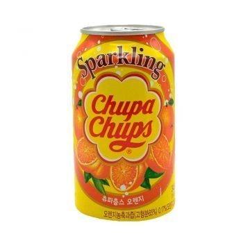 Chupa Chups Sparking Orange Flavour Drink 3