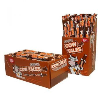 Goetze's chewy Chocolate Caramel Cow Tales 3