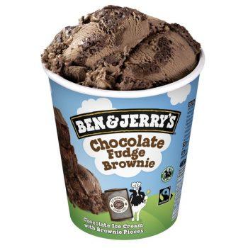 Ben & Jerry Chocolate Fudge Brownie 465ml Tub 3