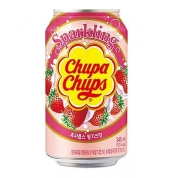 Chupa Chups Sparkling Strawberry Cream Drink 3