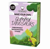 Make your own Gummy dinosaurs 3