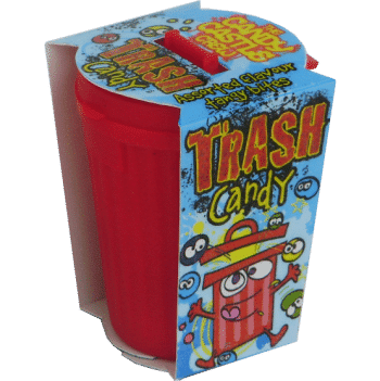 CANDY CASTLE CREW TRASH CANDY 30G. Assorted flavour tangy candy bites. 3
