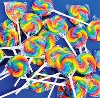 Crazy Candy Factory mini rainbow lolly 3