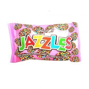 Jazzles Milk Chocolate Buttons with Candy Topping 3