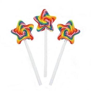 Crazy Candy Factory Gaint Star Rainbow Lollipop 3