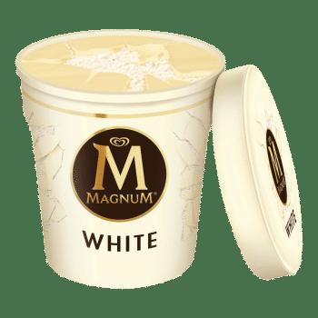 Magnum White Chocolate 440ml Tub 3