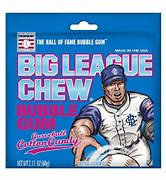 Big League Chew Curved Ball Cotton Candy Gum 60g 3