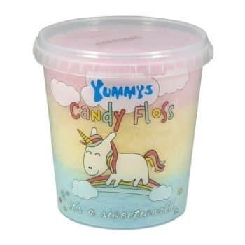 Yummy's Unicorn Candy floss 50g Tub 2