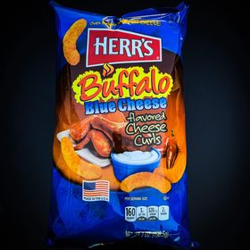 Herr's buffalo blue cheese curls 7oz 3