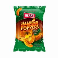 Herr's jalepeno poppers cheese curls 7oz 3