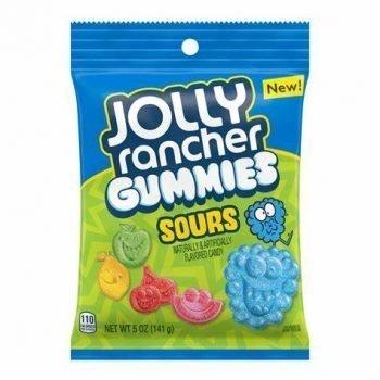 Jolly rancher sour gummies 141g 3