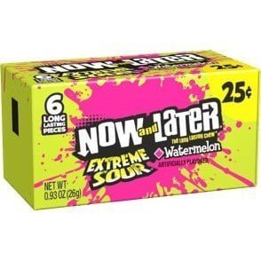 Now and later sour watermelon 26g 3