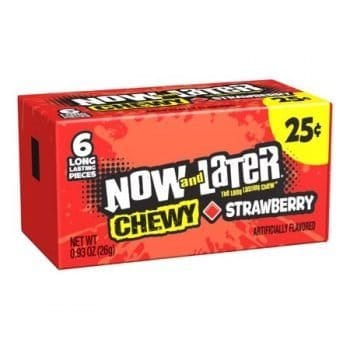 Now and later Chewy strawberry 26g 3