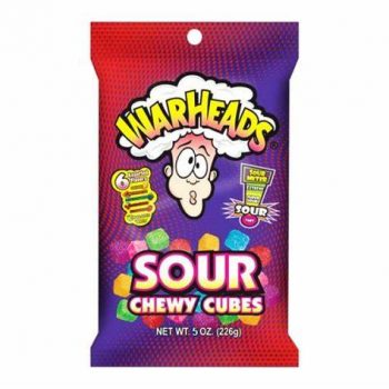 Warhead Chewy Cube Bag 141g bag 3