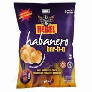 Aubrey D Habanero BBQ potato Chips 5oz 3