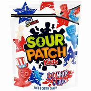 Sour Patch kids red white & blue 1.9lb 3
