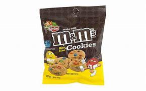 M&M cookies 45g 3