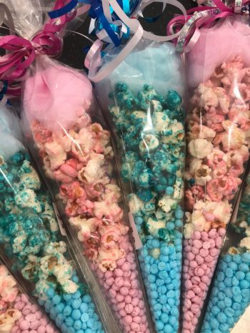 Popcorn & Candy Floss Mixed Cones 2