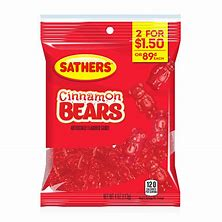 Sathers Cinnamon Bears 4oz 3