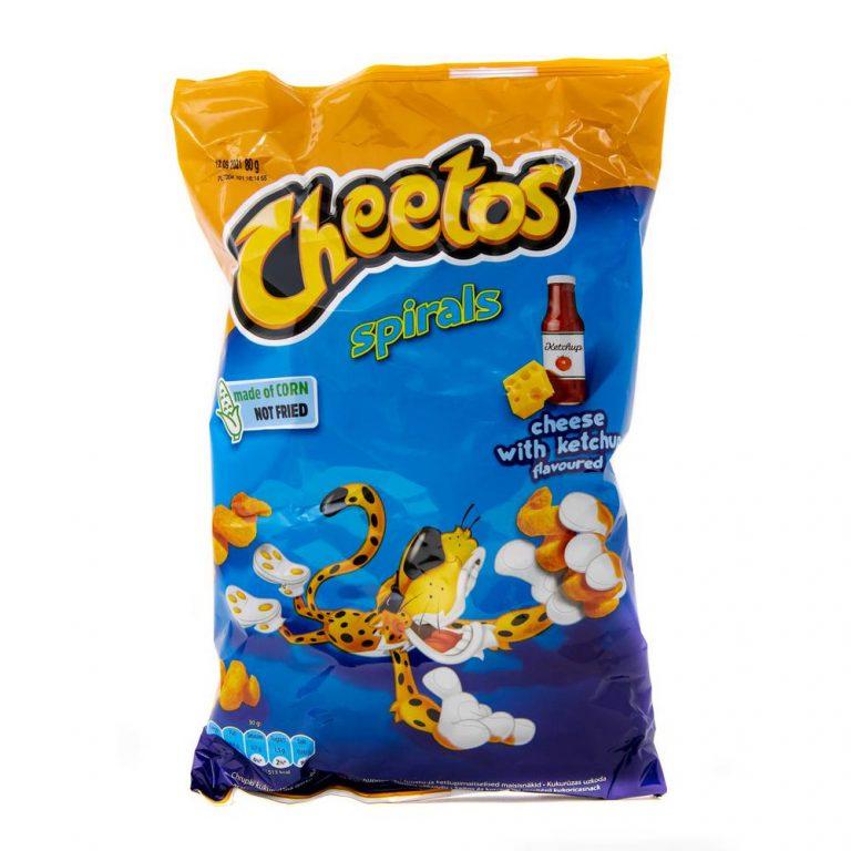 Cheetos cheese & ketchup spirals