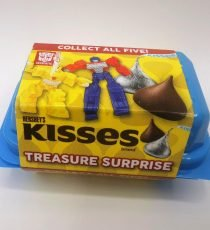 Hershey's Kisses Treasure Surprise Transformers 6