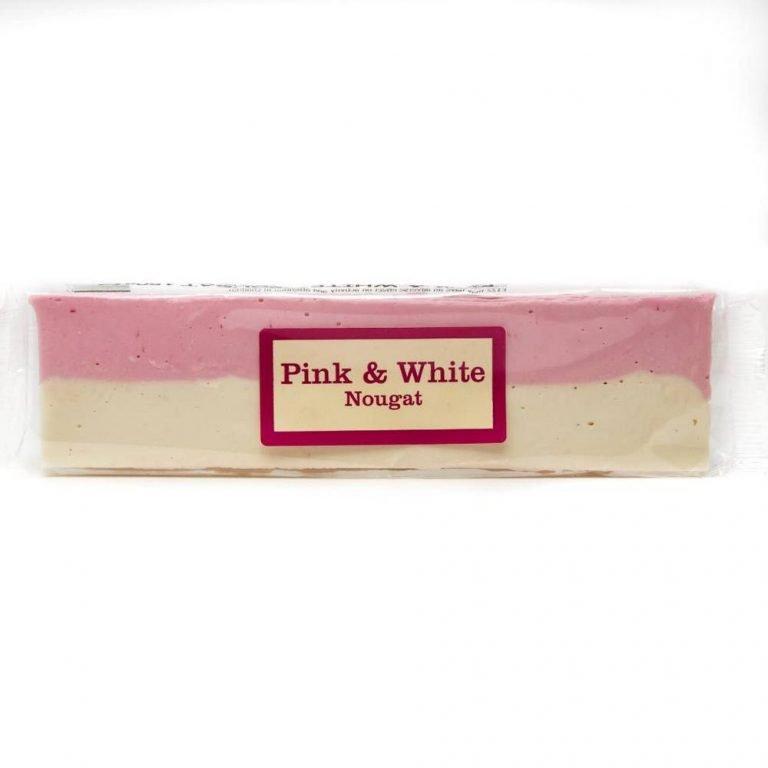 Nougat bar pink and white