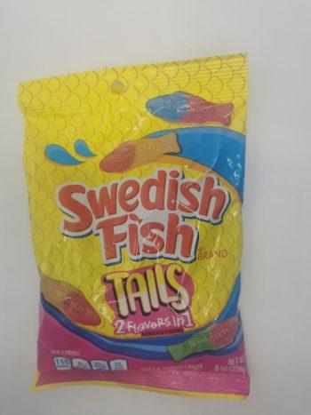 Swedish Fish Tails 8oz 3
