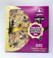Fruit & Nut Toffee Slab 14oz 6