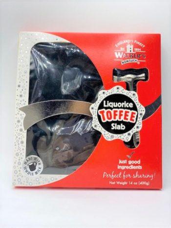 Liquorice Toffee Slab 14oz 2