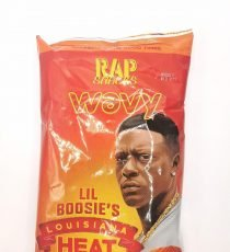 Rap Snacks Wavy Louisiana Heat 2.75oz 5