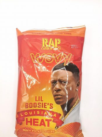 Rap Snacks Wavy Louisiana Heat 2.75oz 2