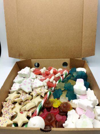 Christmas Sweet Themed Pizza Box 3