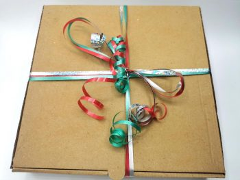 Christmas Sweet Themed Pizza Box 5