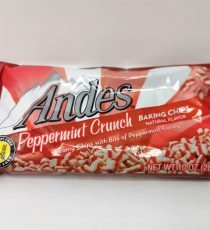 Andes Peppermint crunch Baking Chips 10oz 6