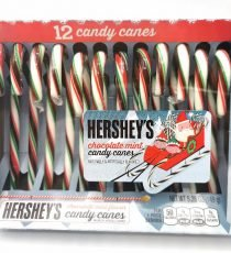 Hershey's chocolate Mint Candy Canes 6